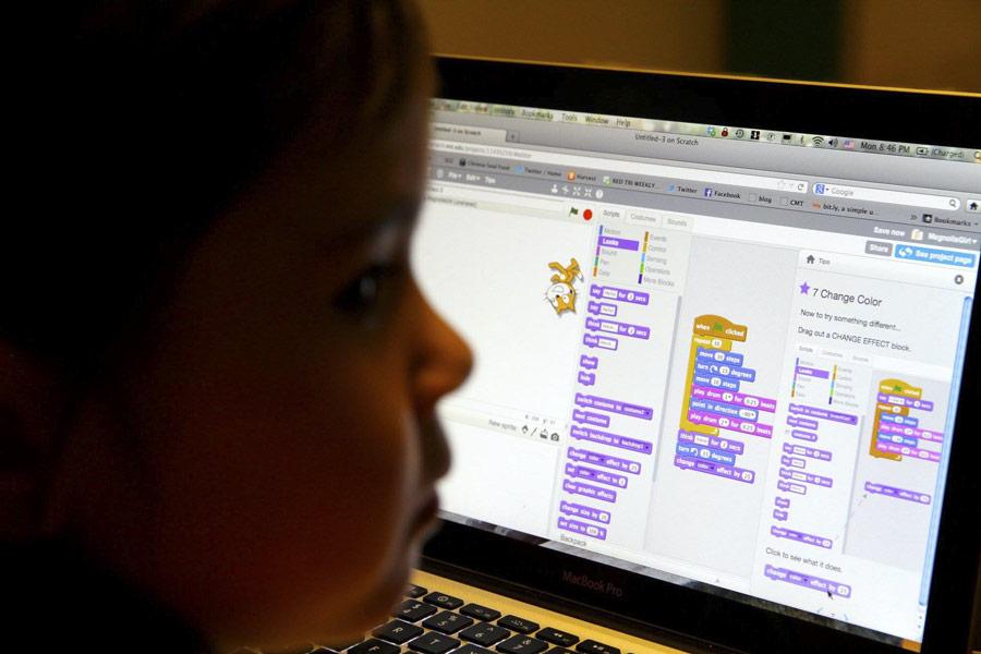 Scratch proqramlaşdırma dili saytında tapşırıq həlli